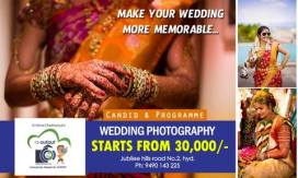 Book Wedding Photographer in Hyderabad