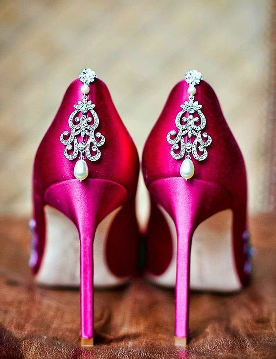 Bridal Shoe designs for Telugu weddings from Brides essentials