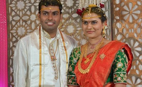 Koneru Humpy and Avinash Dasari
