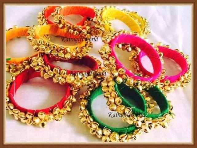 Gungroo bangles by Kaira Gift World