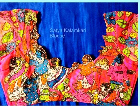 kanchivaram silk blouse