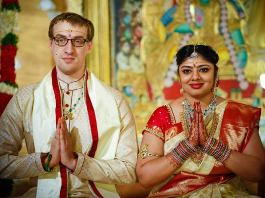 Meghana and Chad Brown