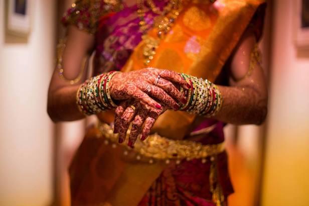 output media bridal shoot