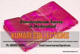 Buy Kancheepuram sarees in Hyderabad