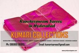 Buy Kancheepuram sarees in Hyderabad