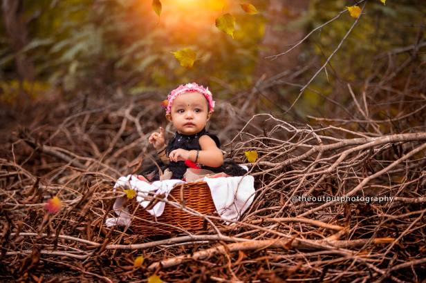 Baby photoshoot by Output Photgraphy
