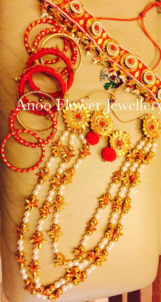 New trendy jewellery for sangeet