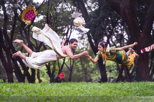 Tamil Bramhim couple shoot