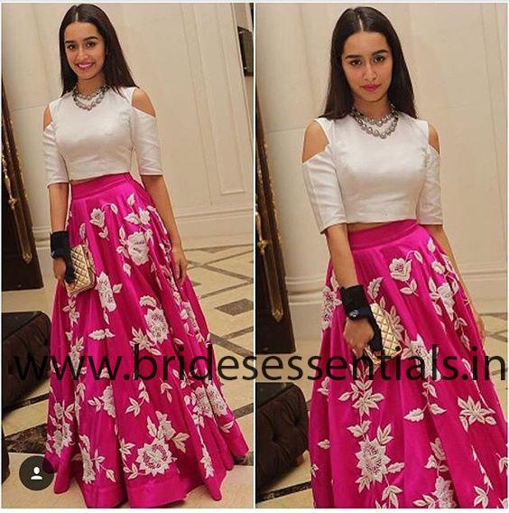 great-woman-shraddha-kapoor-pink-bhagalpuri-silk-lehenga-choli