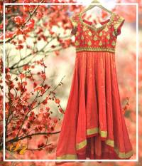 Cape, crop top, lehenga, maggam work blouse designs by Sravani Rao