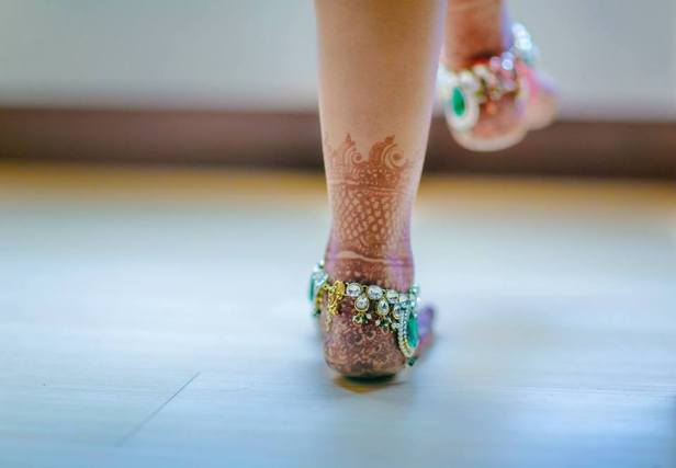 Adorn your feet with gorgeous Anklets.