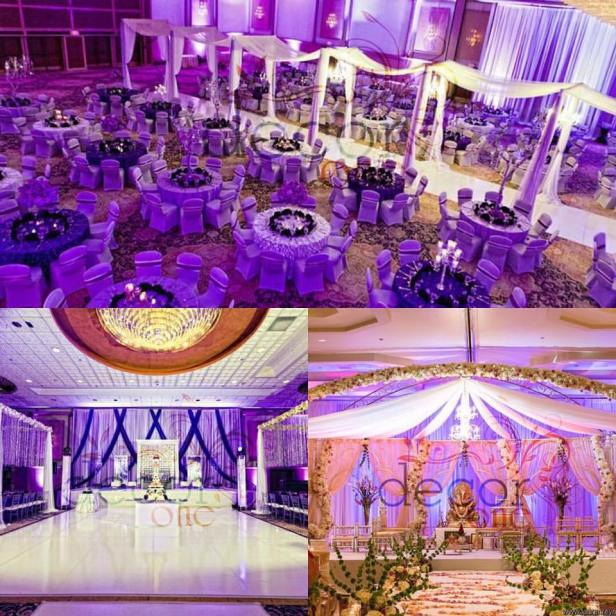violet themed decor by nalini