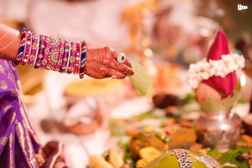 Matching Zardosi Bangles for sarees
