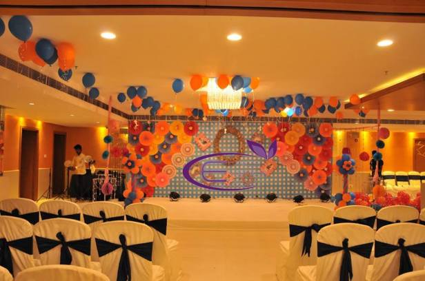 Pom-pm Inspired decor for a Birthday by Ethics Events