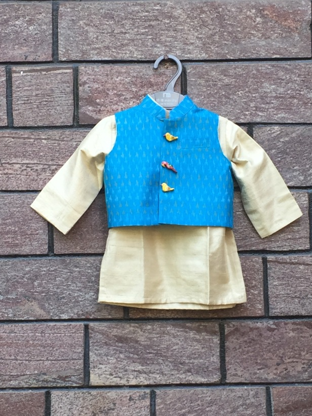Ethnic wear for your lil kiddo by Heavenly weaves