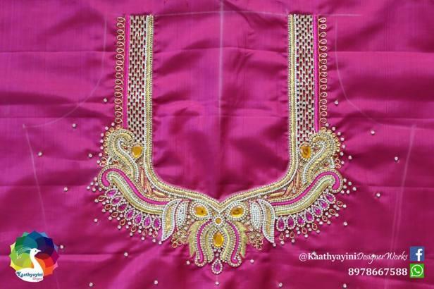 Zardosi Bridal blouse