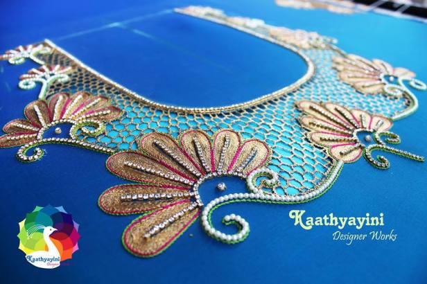 Cut work by Kaathyayani designer works