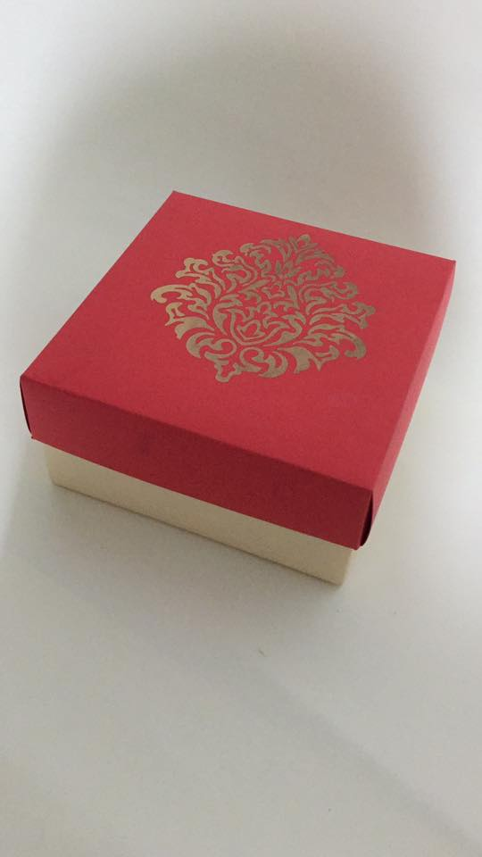Gift boxes by paper trail
