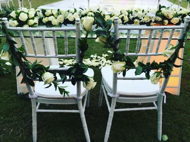 Unique Wedding Chair décor ideas.
