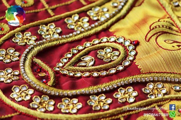 designer-blouse-for-kanchipattu-saree