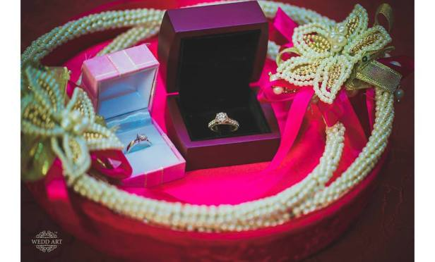 Unique ring presentation ideas for the engagement!