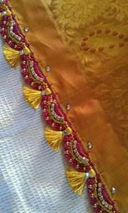 Saree Pallu- Tassels that add the Oomph!