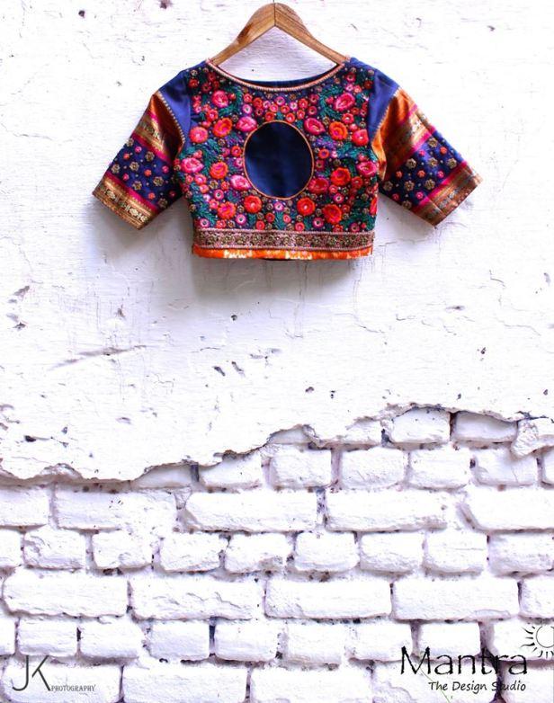 mantra-designer-blouse-for-kanchipattu-saree