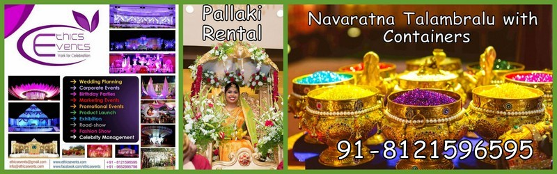Rent a Pallaki in Hyderabad