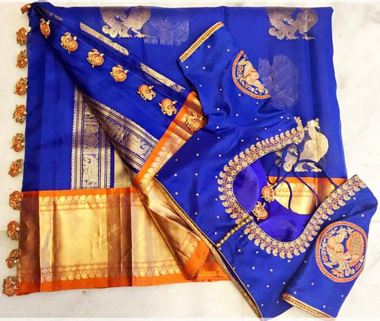 Saree Pallu- Tassels that add the Oomph for Kanchipattu sarees!