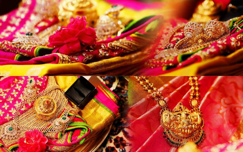 Telugu bride makeup , jewellery, getting ready and accessories ideas and photographs in Brides essentials