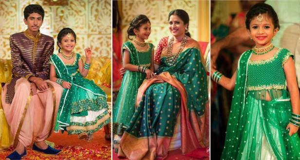 Doll up your little princess with bhargavi Kunam outfits!