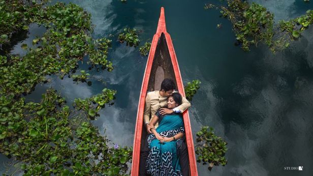 Shot in Backwaters of kerala