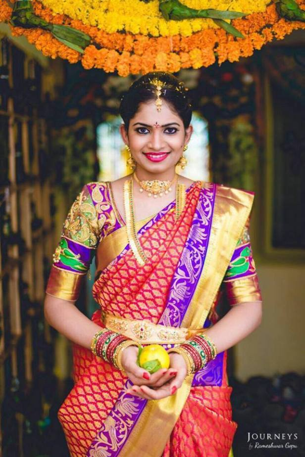 Traditional Telugu Bride