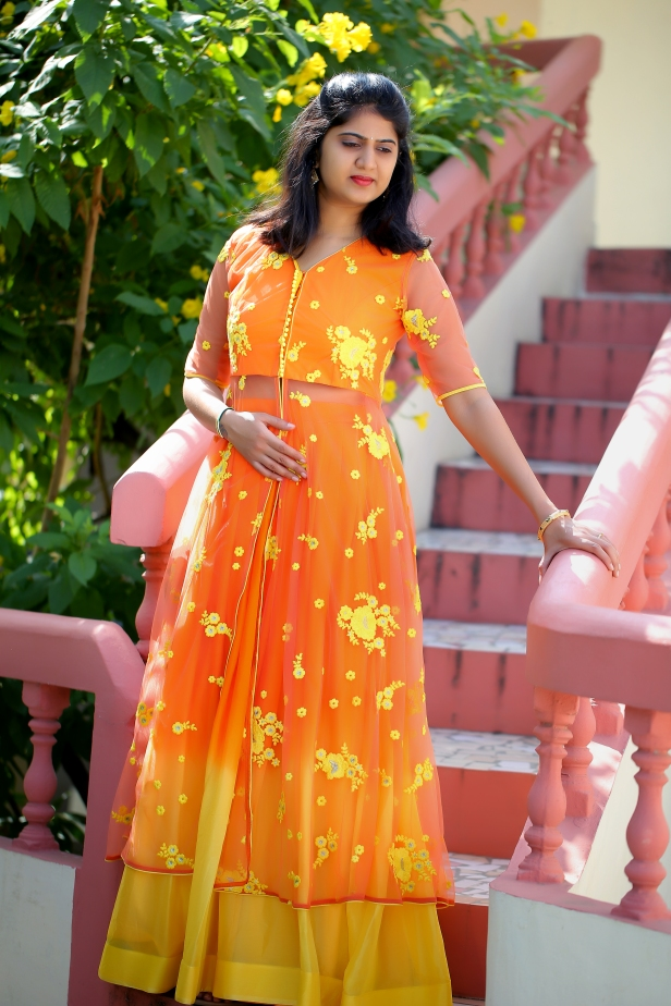 The Sunshine colored dress