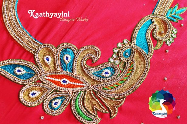Thread work from Kaatyayani