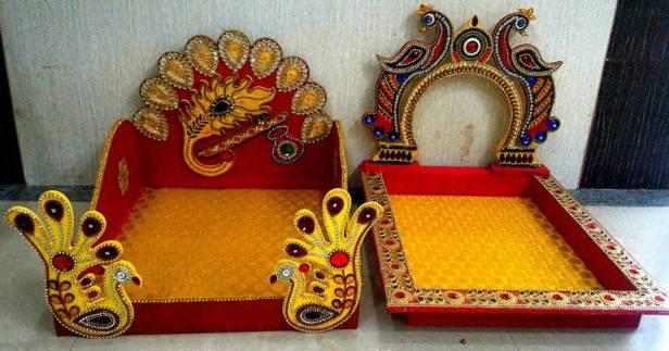 Beautiful wedding trays