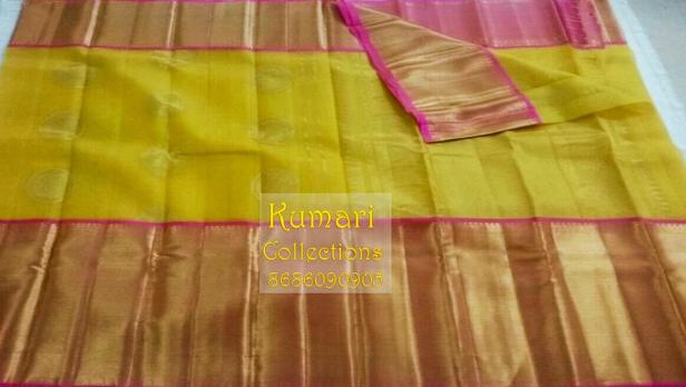 long border organza saree