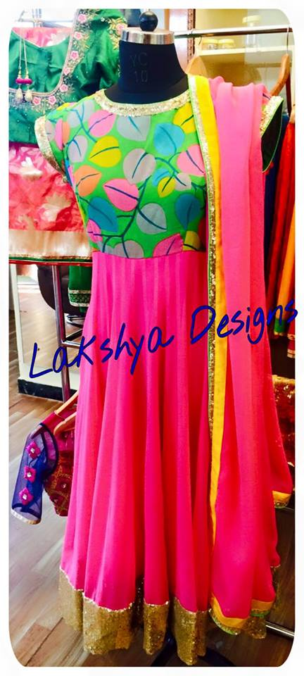 Beautiful fushia pink lehenga