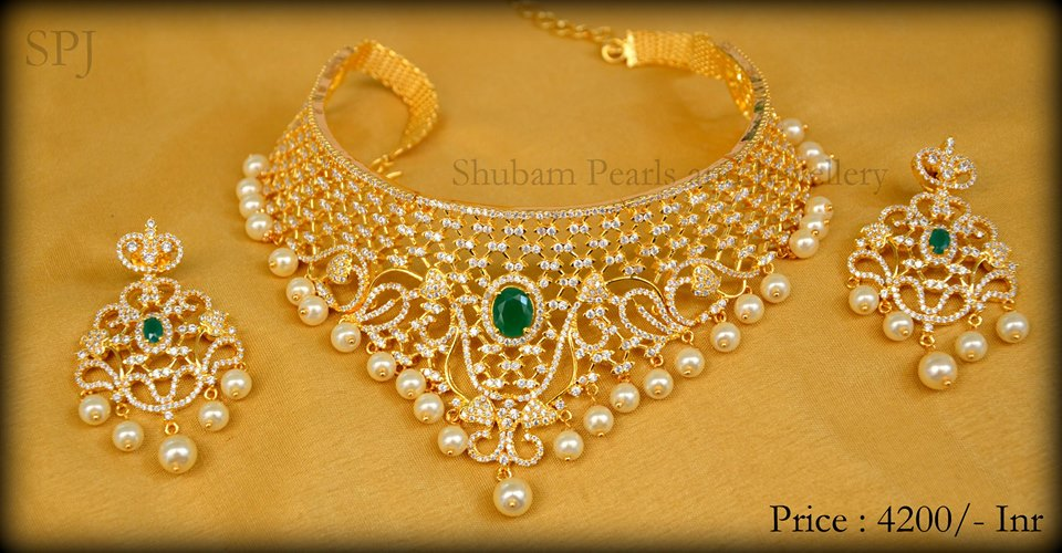 Perfect Neck Pieces Which Would Make Your Day From Shubam Pearls And Jewellery Brides