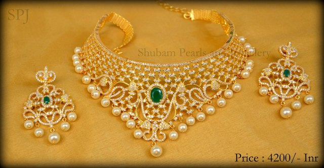Perfect Neck Pieces Which Would Make Your Day From Shubam Pearls And Jewellery Bride S Essentials