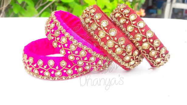Kolam inspired Bangles