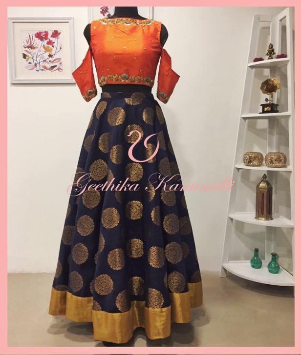 Dress-up fashionably with Geethika Kanumilli