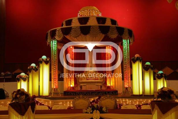 Memorable events with Jeevitha Decor.