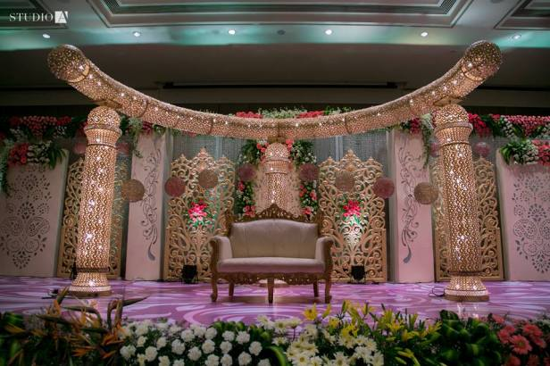 Fabulous Mandap Shots by Studio A .