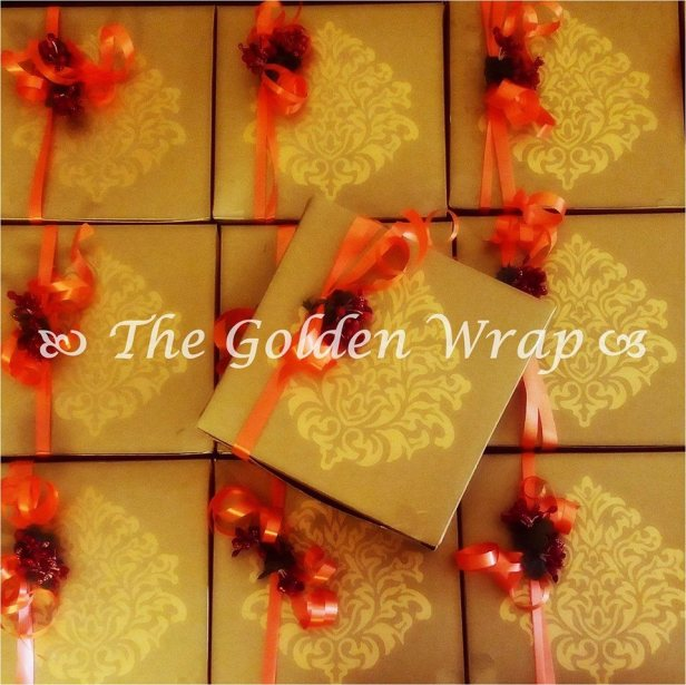 The wedding Wrap!