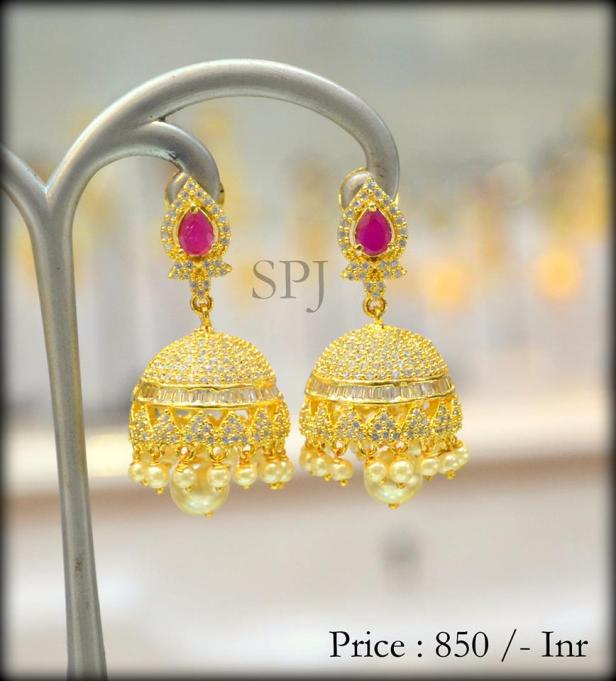 Traditional heavy Jhumka