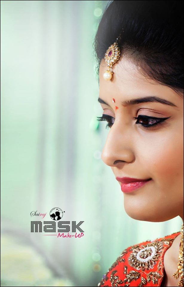 Natural makeup for the Bride