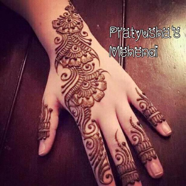 Simple Arabic Mehendi
