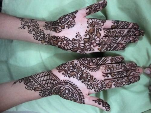 Mehendi for Engagement