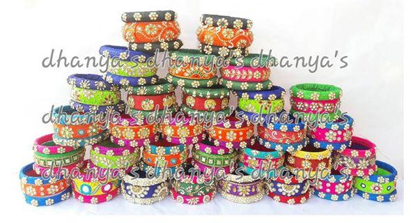 Dhanya's Zardosi Bangles
